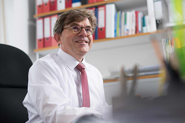 Gerhard Bruns vom geva-institut