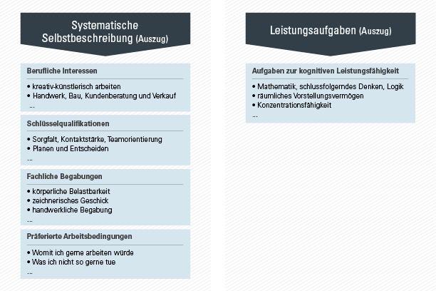 Die Inhalte und Auswertung des geva-tests® für die Studien- und Berufswahl