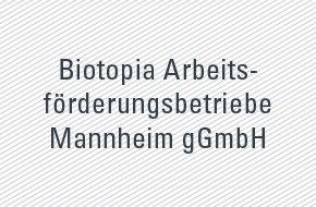 Referenz geva-institut Biotopia Arbeitsförderungsbetriebe Mannheim gGmbH