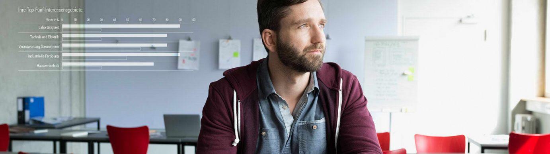 Beruflicher Wiedereinstieg für Langzeitarbeitslose mit den geva-tests® für Erwachsene ab 25 Jahren