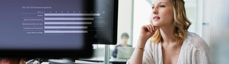Berufsinteressentest: Der geva-test® Perspektive & Beruf zeigt Ihnen die Berufe, die Sie wirklich interessieren